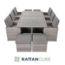 12 seater rattan garden furniture set