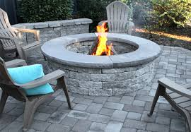 suffolk fire pit in granite