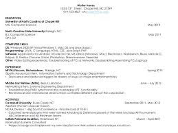 Objective In Resume For Computer Science Sample Resume For Internship In Computer Science Internship Resume 64