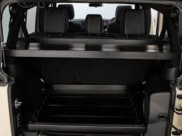 jeep wrangler jku 4 door cargo storage interior rack front runner slimline ii