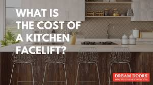 what is the cost of a kitchen facelift