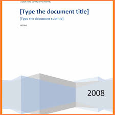 Template Ideas Free Microsoft Word Cover Pages Letter Format Awesome