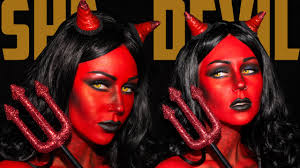 heaven she devil makeup tutorial jordan hanz kristen lee kristenleestyle you