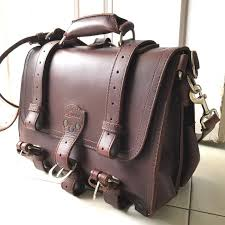 saddleback leather briefcase medium men s fashion bags wallets on carou