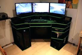 gaming corner desk. Delighful Desk L Desk Gaming Corner Table Of Desks For Desktop  Office Computer Intended Gaming Corner Desk