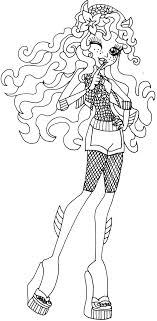 Small Picture Free Printable Monster High Coloring Pages Secret Creepers