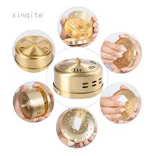 <b>Portable Copper</b> Acupuncture <b>Moxa</b> Box <b>Moxibustion</b> Therapy <b>Moxa</b> ...