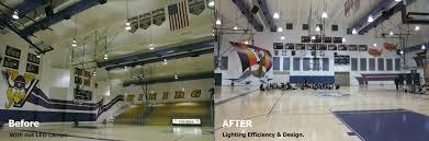 school district reaps huge savings improves gym lighting