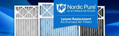 lennox 16x25x5 x6670 merv 11. nordic pure, air filter, pleated, conditioner, lennox replacement, 16x25x5 x6670 merv 11