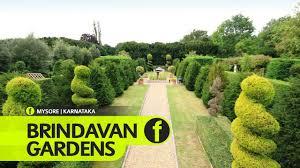 Small Picture Brindavan Gardens Mysore Karnataka Tourism YouTube