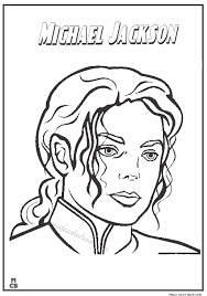 Small Picture Famous People coloring pages Michael Jackson