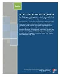Ultimate Resumes Ultimate Resume Writing Guide Get The Only Complete Guide To Resume