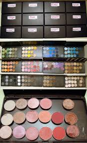 Emily's got TWELVE, count 'em, TWELVE sexy, eyeshadow-filled palettes to  drool over. Closed opened and then the pinks palette up-close!