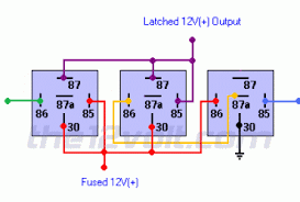 latching relay wiring diagram wiring diagram and schematic design optional arm on will toggle latching relay once disabling how