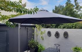 your patio with a large patio umbrella