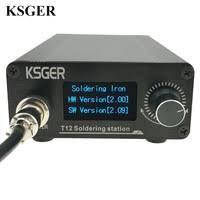 KSGER <b>T12 Soldering Station</b> Iron Tips STM32 V2.01 OLED DIY ...