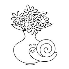 Kleurplaat Lentebloemen Ecosia Intended For Bos Bloemen Afbeelding
