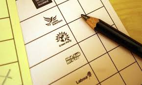 Image result for ballot paper uk