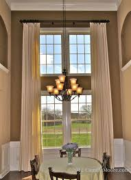 Window Treatments For Two Story Windows #decor #windowtreatments
