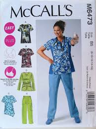 Scrub Patterns Beauteous 48 Top Sewing Patterns For Scrubs Keep Clicking Print Out For