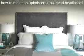 ... Tall Headboard Upholstered Bed How To Make A Nailhead Upholstered  Headboard High Upholstered Headboards High End ...