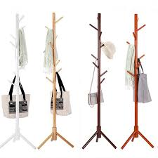 Sturdy Coat Rack Amazing Sturdy Floor Standing Wooden Coat Rack Solid Rubber Wood Hall Tree
