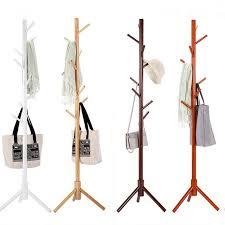 Sturdy Coat Rack Amazing Sturdy Floor Standing Wooden Coat Rack Solid Rubber Wood Hall Tree