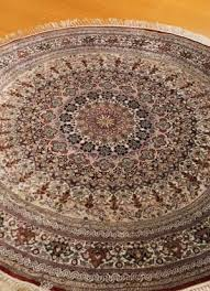 silk kashmir hand knotted silk india rug w400 kr