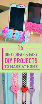16 dirt easy diy projects to make at home