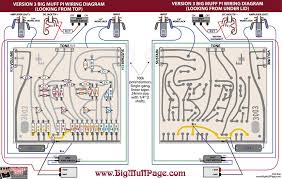 big muff transistors and other components v3 big muff wiring diagram
