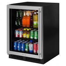 Undercounter Beverage Refrigerator Glass Door Home Design Newair Undercounter Beverage Center Reviews