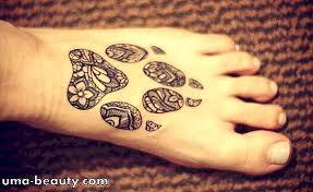 Henna Tetování Pes
