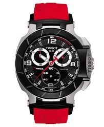 tissot men s swiss chronograph t race red rubber strap watch 50 26 tissot men s swiss chronograph t race red rubber strap watch 50 26x45 3mm t0484172705701