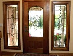 stained glass stained glass door panels for front leaded doors s pa
