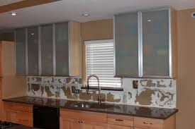 Glass Front Kitchen Cabinet Distinctive Kitchen Cabinets With