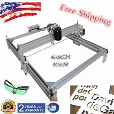 details about 500mw 40x50 diy laser engraving marking cutting machine wood cutter printer kit