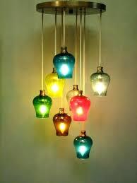 colorful pendant lights colored pendant lighting colorful pendant lights vintage mid century modern multi colored glass