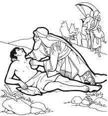 Good Samaritan Coloring Page Parable Of The Good Coloring Page The