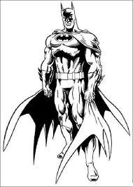 Disegno Di Batman Da Colorare Disegni Da Colorare E Stampare Gratis