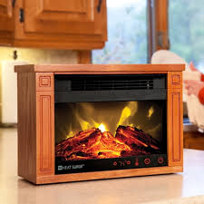 Amish Electric Fireplace HeatAmish Fireless Fireplace