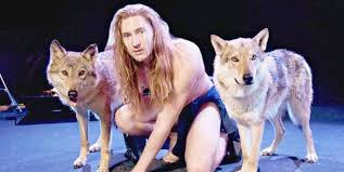 Belarus' IVAN is actually performing naked with wolves