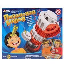 <b>Настольная игра ИГРАЕМ</b> ВМЕСТЕ Пизанская башня — купить в ...