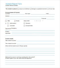 fire incident report form template accident report format pdf korest jovenesambientecas co