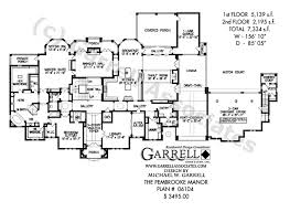 traditional house plans. Pembrooke Manor House Plan 06104,1st Floor Traditional Plans