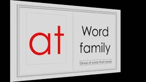 Activities Word Montessori English Reading Activities At Word Family Youtube