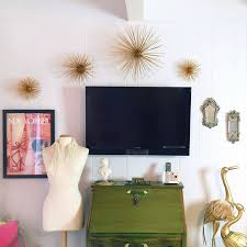 diy office wall decor. DIY Gold Sea Urchin // Starburst Wall Decor Tutorial Diy Office M