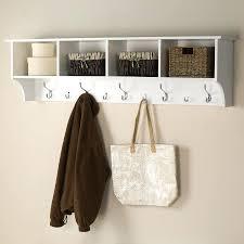 Coat Rack Cabinet Coat Rack Cabinet Shop Hooks Racks At Furniture White 100 Hook Mounted 53