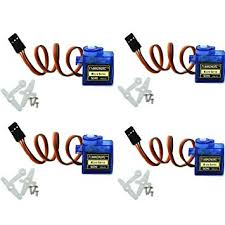 4Pcs SG90 9g Micro Servos for RC Robot Helicopter ... - Amazon.com