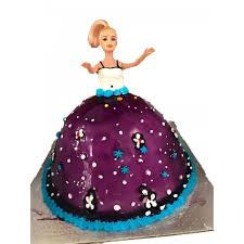 Blueberry Barbie Doll Cake Cakes Online Shopping In Nepal Women