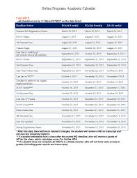 Notre Dame Academic Calendar Printable Hd Images